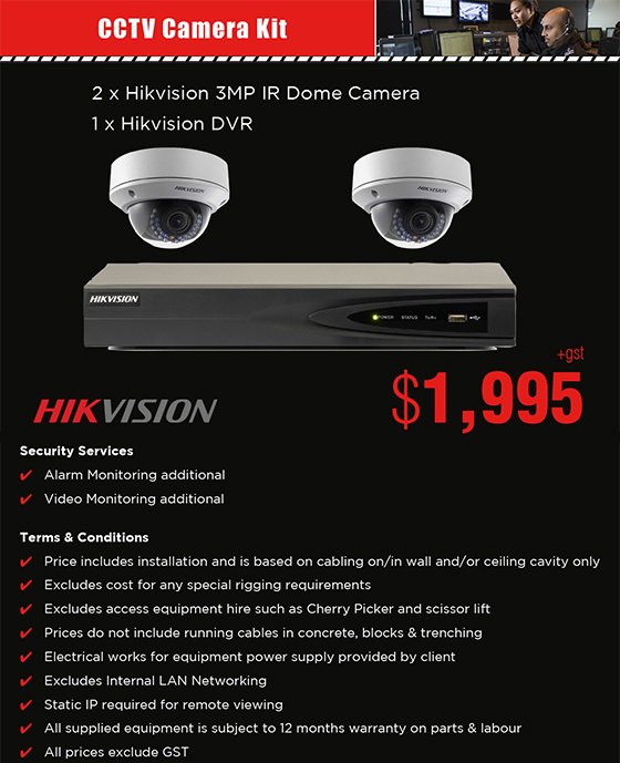 Rush Security : Security Systems : CCTV Camera Systems